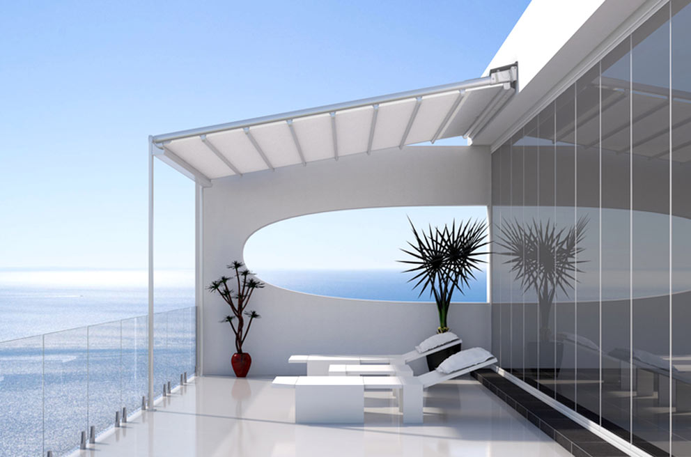 Cortinas de cristal en m laga cerramientos de terrazas - Cerramientos de terrazas de aticos ...
