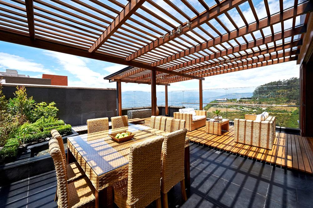 P rgolas de madera para terrazas en m laga y benalm dena - Maderas para terrazas ...