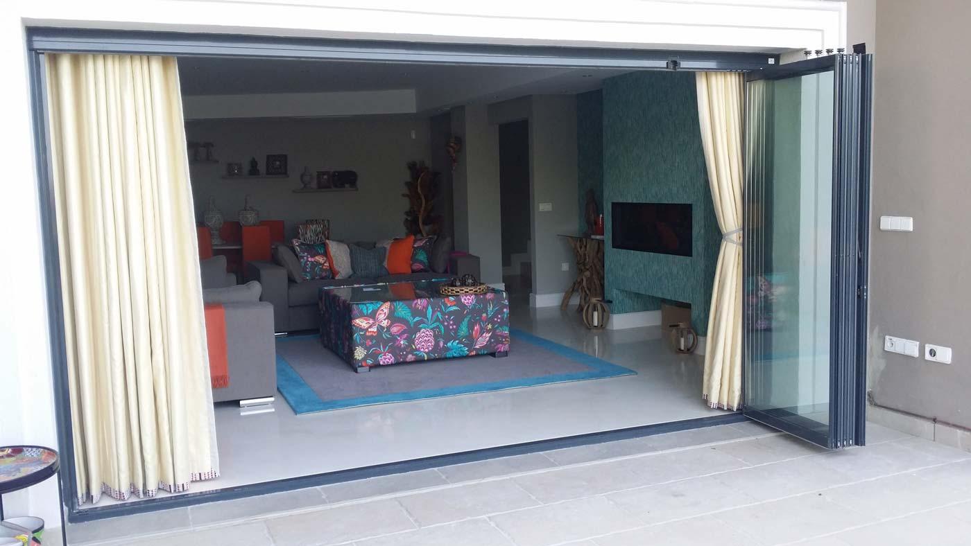 Cristal para terrazas for Ideas de techos para terrazas