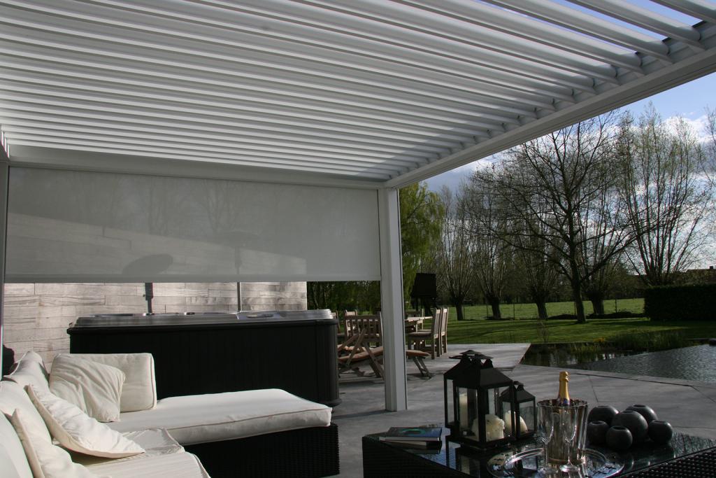 Disfruta de tu terraza con una p rgola bioclim tica - Pergolas bioclimaticas ...