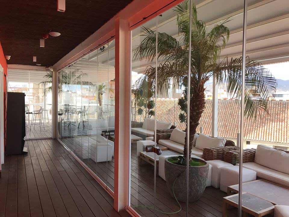 Cortinas de cristal en mi terraza de fuengirola for Cortina cristal terraza