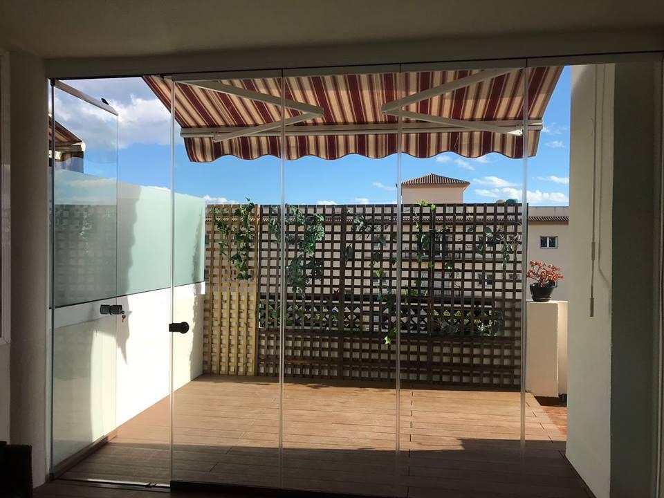 Cortinas de cristal para cerramiento de terrazas en m laga - Cortinas de cristal malaga ...