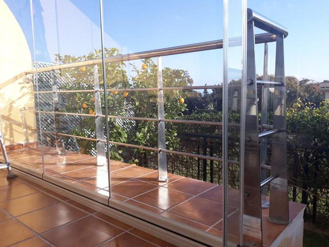 Cerramientos de cristal en Málaga