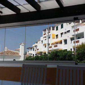 Cerramiento de terrazas en Mijas