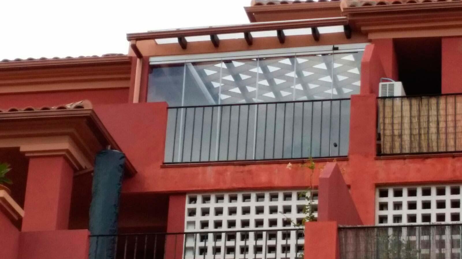Cortinas de cristal en Mijas