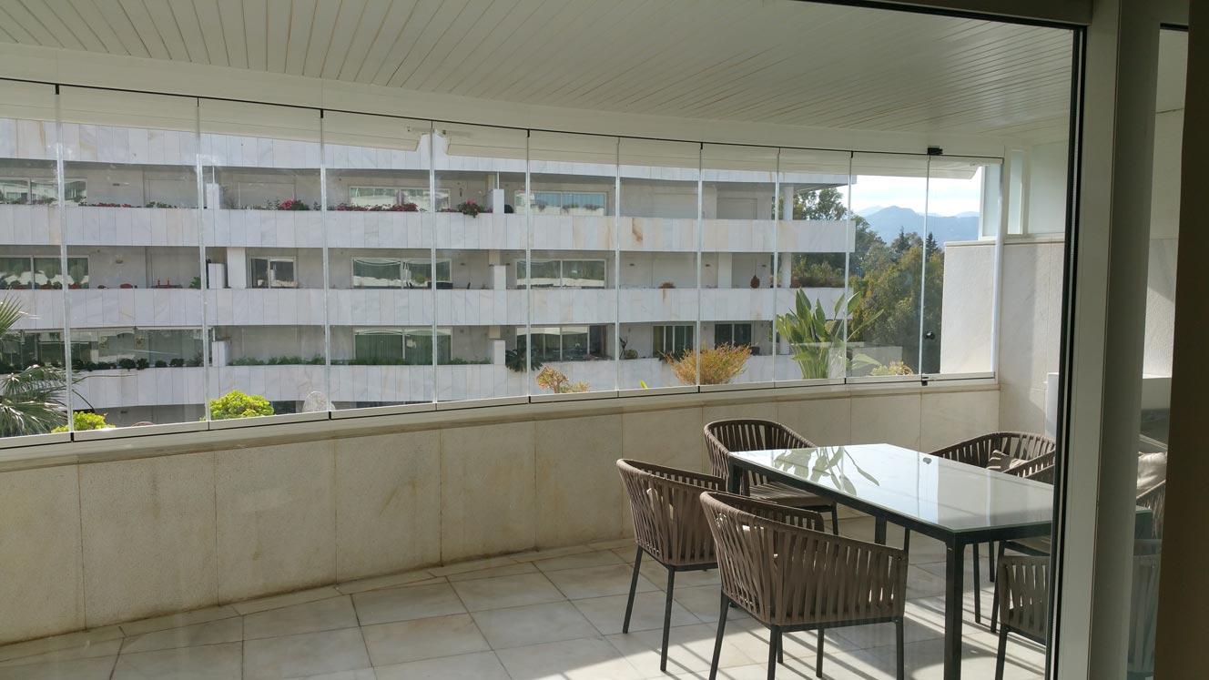 Cortinas de cristal en Málaga - Ahorro energético