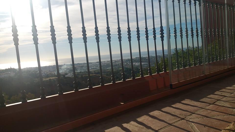 Cortinas de cristal en Estepona