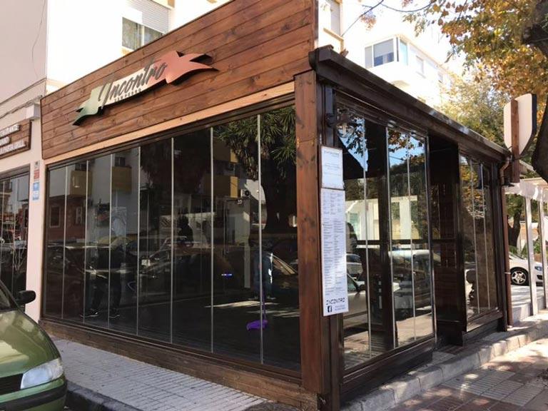 Cerramientos de terrazas para negocios