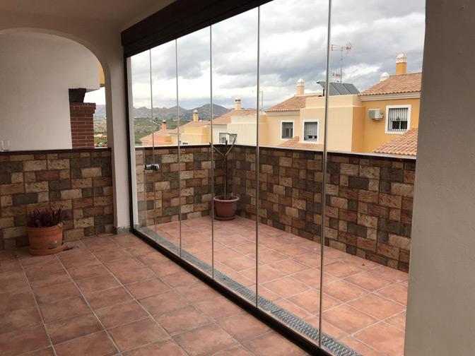 Cerramientos de terrazas en Málaga